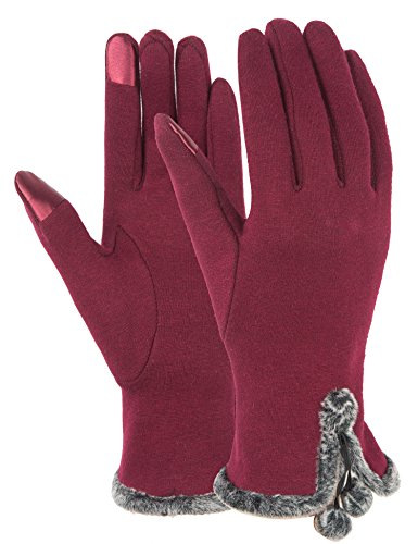 touch-screen-gloves-women-lined-thick-winter-warm-gloves-outdoor-burgundy