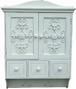 shabby chic wall cupboard cabinet kitchen bathroom