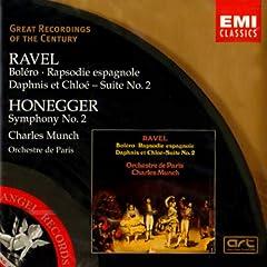 Ravel & Honegger : BOLERO/RAPSODIE ESPAGNOLE/SYM 2REMASTERED)