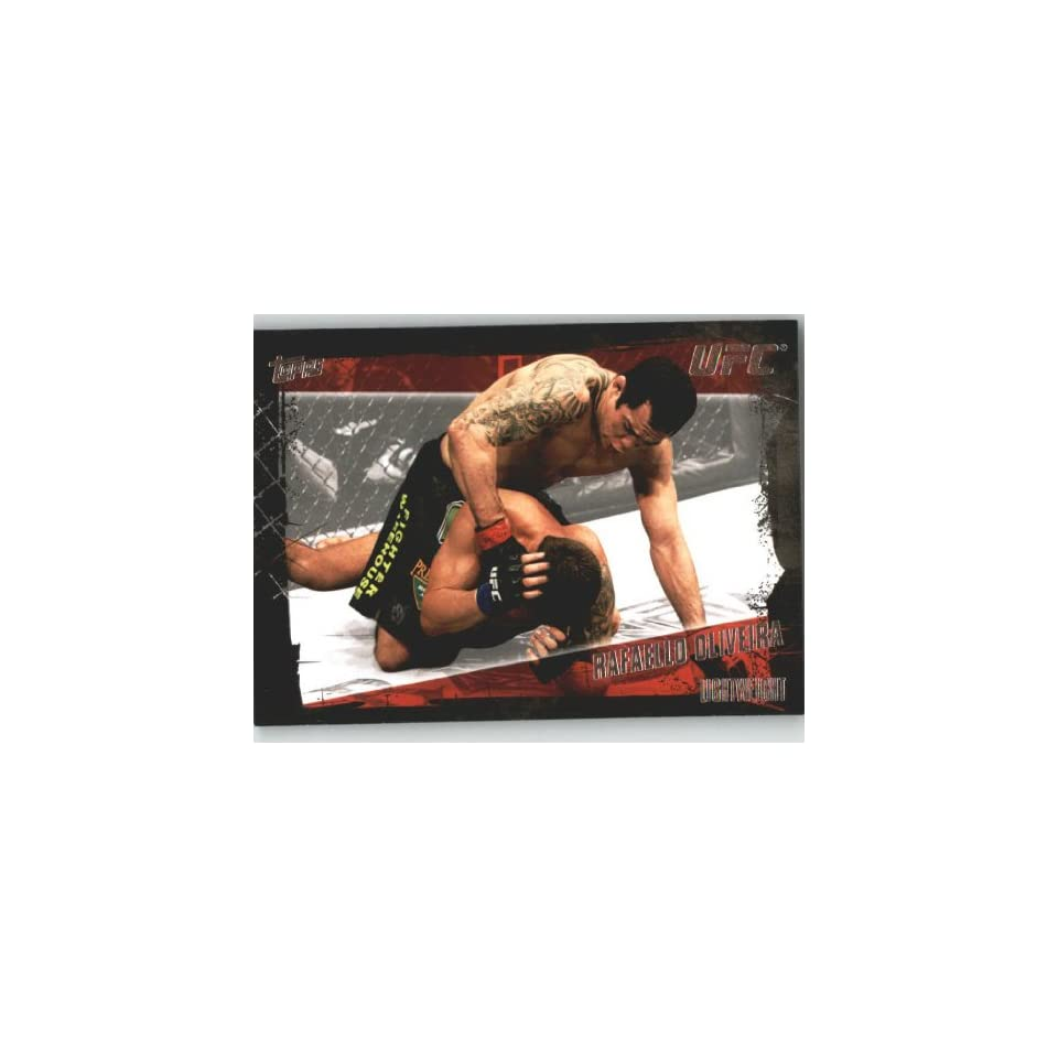 2010 Topps UFC Trading Card # 109 Rafaello Oliveira (Ultimate Fighting Championship) Shipped in Screwdown Case