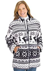 Carol Wright Gifts Women's 2 in 1 Fleece Jacket