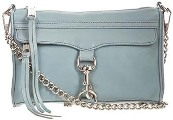 Rebecca Minkoff Mini MAC Convertible Cross-Body Handbag,Ash Grey,One Size