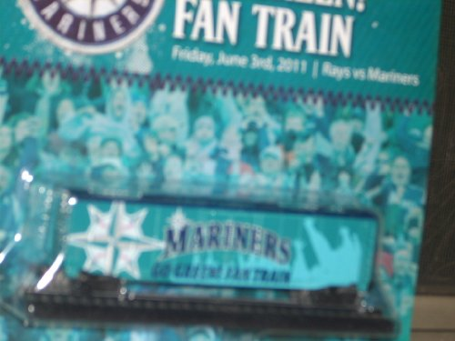 2011 GO GREEN! FAN TRAIN - June 3, 2011 TAMPA BAY RAYS v SEATTLE MARINERS BASEBALL Game GSA Sealed in package NEW! 12th Edition of the Mariners Express collectible train series. at Amazon.com