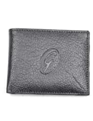 Gold Filled Men Wallet-Men Black Wallet-Black Formal Men Wallet-Formal Wallet