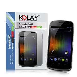 Samsung Galaxy Nexus 16GB 10 Pack Screen Guard Protectors For By Kolay