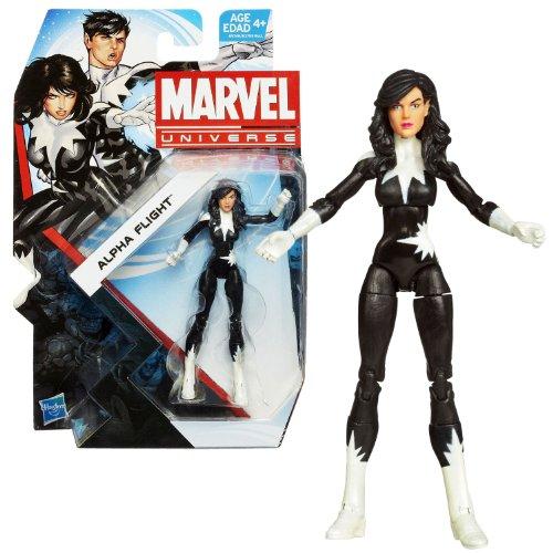 Hasbro Year 2013 Marvel Universe Series 5 Single Pack 4 Inch Tall Action Figure Set #027 - ALPHA FLIGHT Member Jeanne-Marie Beaubier aka AURORA