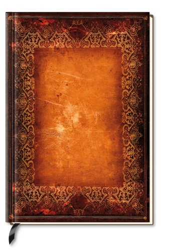 Note Book Blank Antique Book