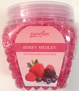 Amazon.com: Pureflex Berry Medley Odor Eliminating Scented Beads 12 Oz ...