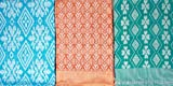 Exotic India Lot of Three Single-Bed Bedspreads from Coimbatore - Pure Cotton