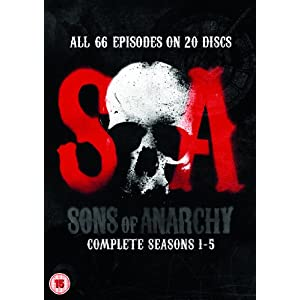 Sons of Anarchy - Season 1-5 [DVD] [Import anglais]