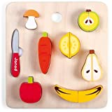 Janod 06529 Toy Chunky Fruit and Veg