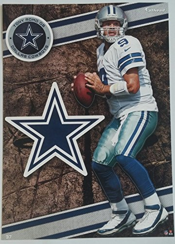 "Tony Romo 2014 NFL Fathead Tradeable 5"" x 7"" Dallas Cowboys - #37"