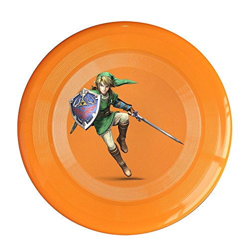 SAXON13CAP Geek Link The Legend Of Zelda 150g Orange Toy Flying Disc