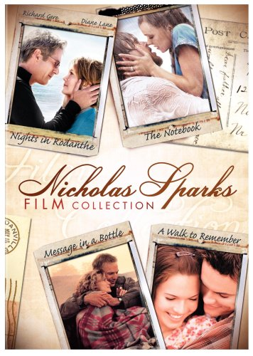 Cover art for  Nicholas Sparks Film Collection (Nights in Rodanthe / The Notebook / Message in a Bottle / A Walk to Remember)