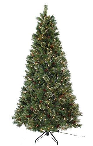 Pre Lit Folding Christmas Tree