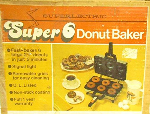 Superlectric Super 6 Donut Baker