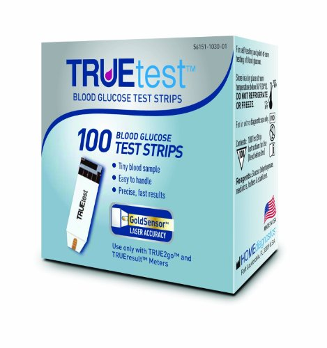 TRUEtest Test Strips, Pack of 200 Strips