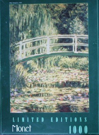 Water Lilies by Claude Monet 1000 Piece Puzzle