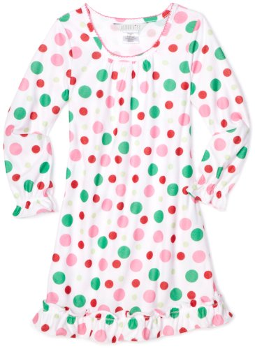 Komar Kids Girls Dot Nightgown
