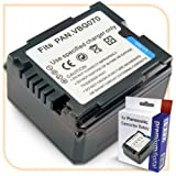 PremiumDigital Standard Panasonic SDR-H40 Replacement Camcorder Battery