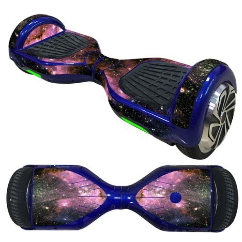 OYW Balance Board Hover Skins Decal,Protective Vinyl Skin Stickers Wrap for 6.5 inches Self Balancing Hoverboard Scooter Leray Sogo Glyro Swagway X1 Decals Cover - Star Universe [並行輸入品]
