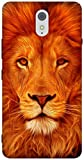 The Racoon Lean Face Of The Lion Inspired Hard Plastic Printed Back Case For Lenovo Vibe K5
