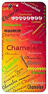 Chamelee (A Creeper with Flowers) Name & Sign Printed All over customize & Personalized!! Protective back cover for your Smart Phone : Apple iPhone 7