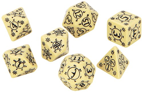 Pathfinder: Rise of The Runelords Dice, Set of 7