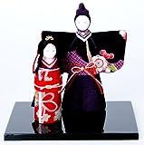 『彩華立雛』 お雛様/雛人形/玄関にも飾れる小型タイプ