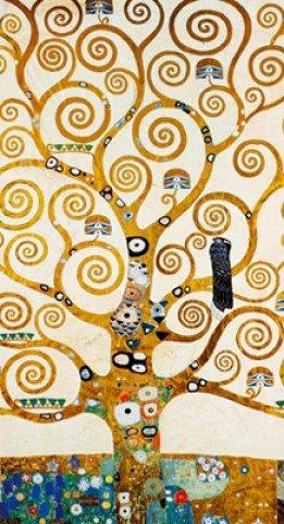 Posters: Gustav Klimt Poster Art Print - L'albero Della Vita (28 x 20 inches)