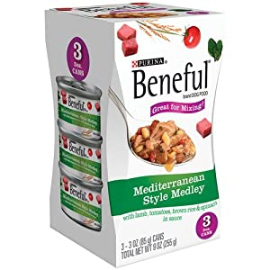 Beneful Mediterranean Style Medley Canned Dog Food 9 OZ (Pack of 24)