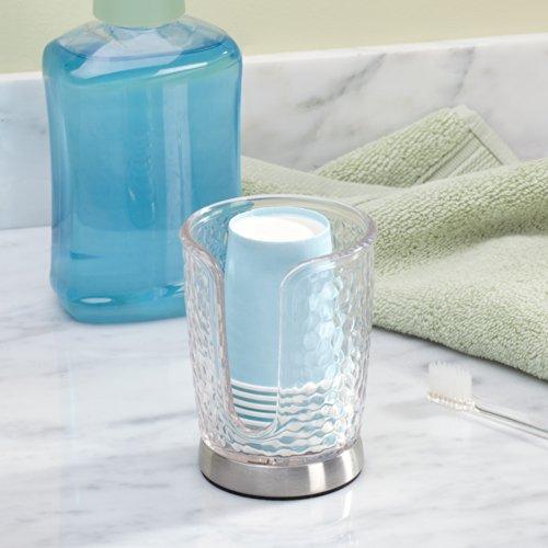 interdesign rain disposable paper cup dispenser for