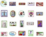 Embroidery Machine Designs CD LUGGAGE TAGS