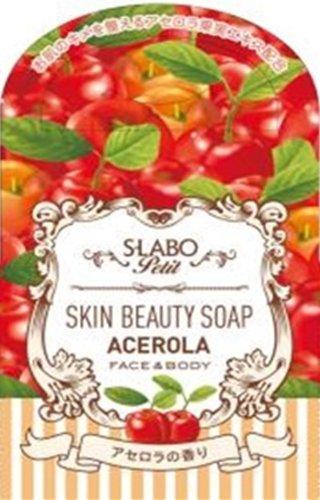 SーLABOプチ スキンビューティーソープ アセロラの香り 60g