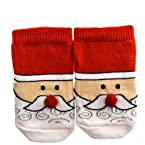 Santa Face Infant Socks