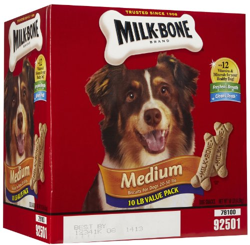 Milk Bone Dog Biscuits, Medium, 10 Pound
