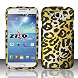 [ARENA] GOLD BLACK CHEETAH ANIMAL COVER SNAP ON HARD CASE for SAMSUNG GALAXY MEGA 5.8