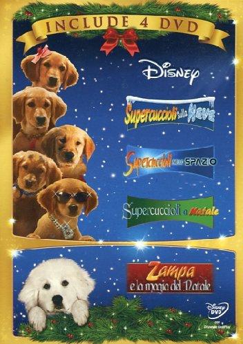 Supercuccioli sulla neve + Supercuccioli nello spazio + Supercuccioli a Natale + Zampa e la magia del Natale! [4 DVDs] [IT Import]