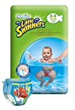 Huggies Little Swimmers Disposable Swim Nappies - Size 3-4 (15-34 lbs/7-15 kg), 2 x Packs of 12 (24 Nappies)
