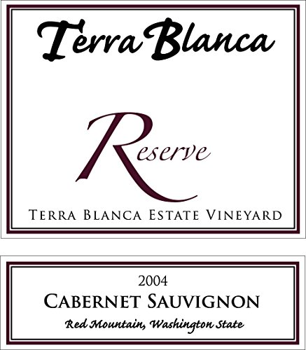 2004 Terra Blanca Reserve Red Mountain Cabernet Sauvignon 750 Ml