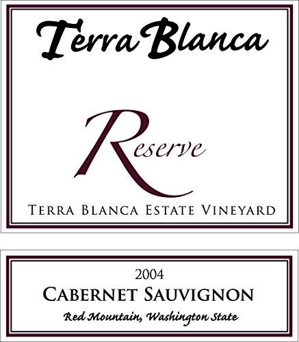 2004 Terra Blanca Reserve Red Mountain Cabernet Sauvignon 750 Ml