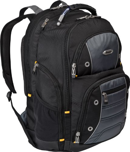Targus Drifter Ii Backpack For 16-Inch Laptop, Black/Gray (Tsb238Us)