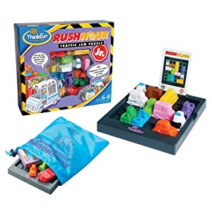 Click to read our review of ThinkFun Rush Hour Game Jr.!