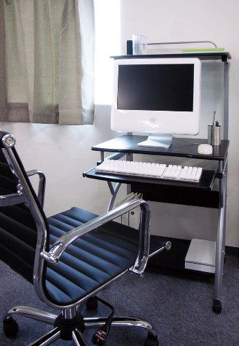 KOEKI コンピュータデスク PCW-S2517(BK)