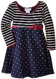 Bonnie Jean Little Girls' Stripe Knit Dress