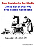 Free Cookbooks For Kindle: Linked List to Amazon's Collection of Free Antique Cook Books and Homemaker Guides (Free Books on Kindle)