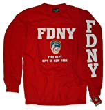 FDNY Shirt Long Sleeve T-Shirt Authentic Clothing Apparel Officially Licensed Merchandise by The New York City Police Department