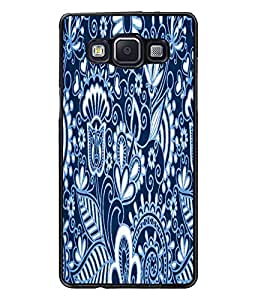 PrintDhaba Pattern D-5843 Back Case Cover for SAMSUNG GALAXY A5 (Multi-Coloured)