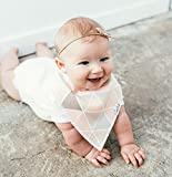 Copper Pearl Baby Bandana Drool Bibs 4 Pack for Girls