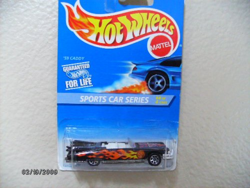Hot Wheels 59 Caddy 1996 Sports Car Series #4collector#407 1:64 Scale